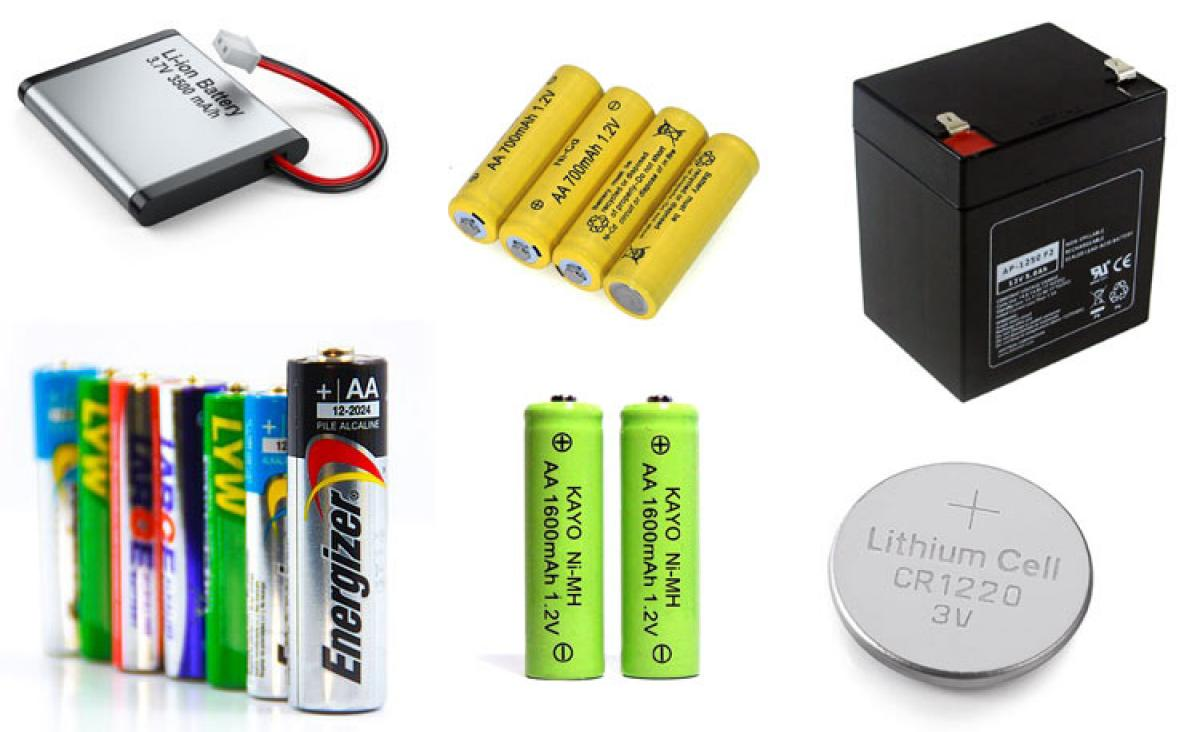 The Different Types of Batteries